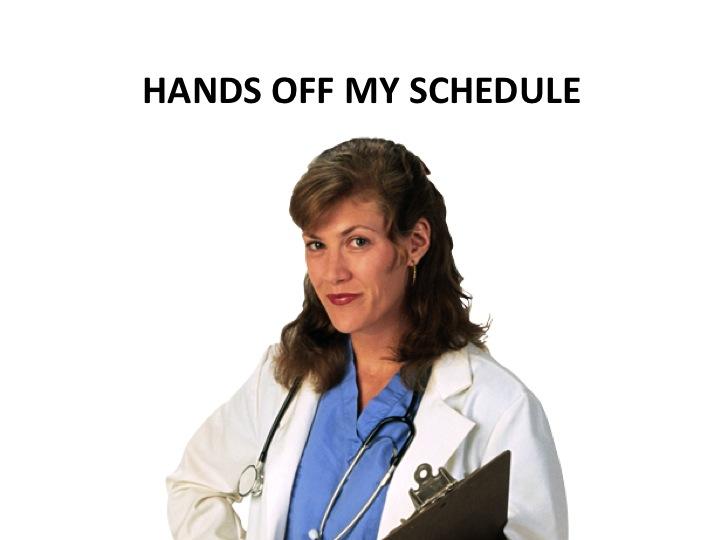 Scheduling to meet patient needs